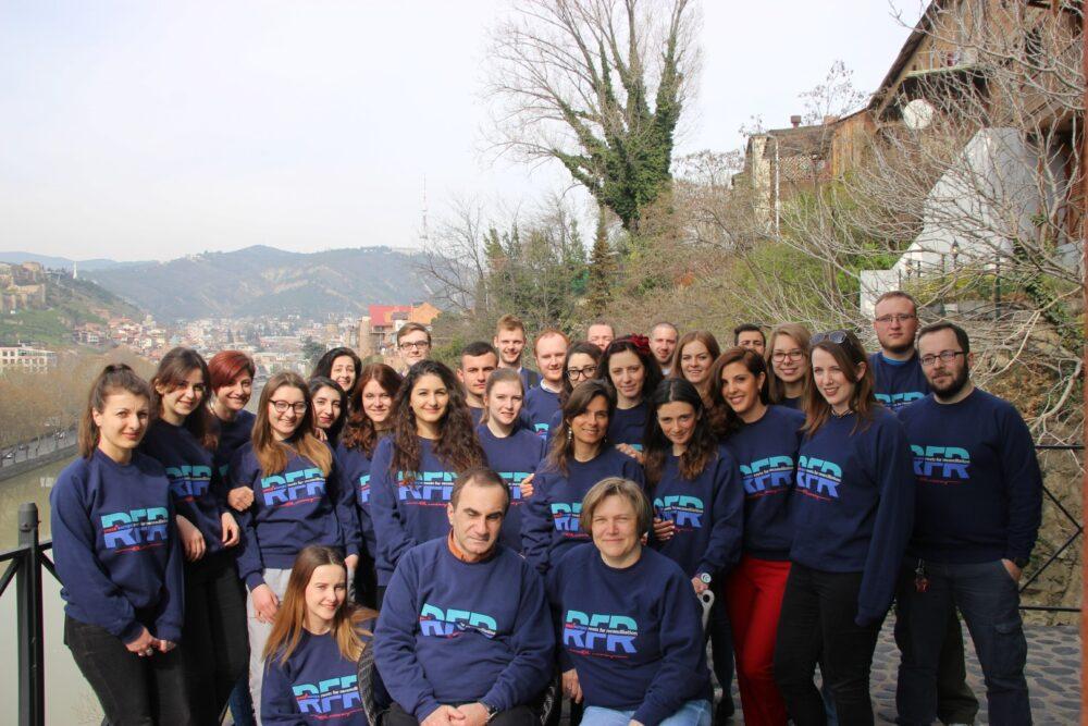 Peace Work Institute - Session 1, Tbilisi 2017